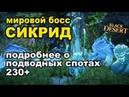 Морской данж AP 230-270 🐋 Мировой босс Сикрид за 70кк в Black Desert (MMORPG - ИГРЫ)