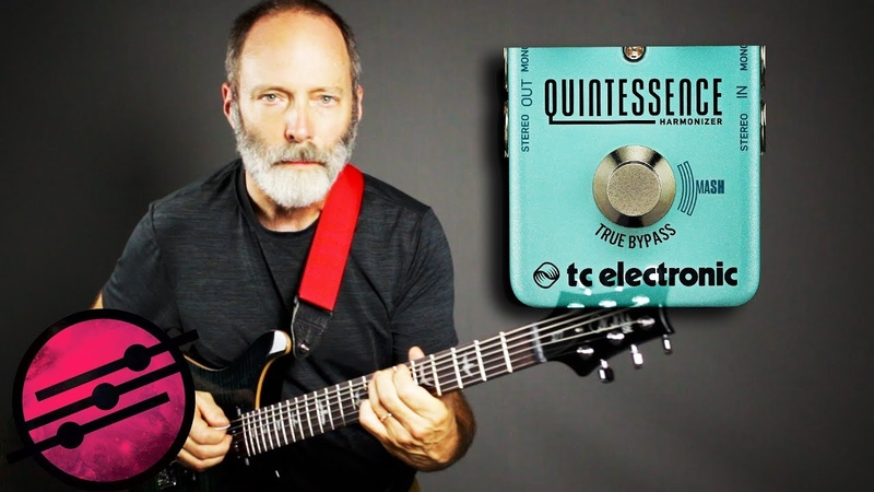 TC Electronic Quintessence MASH Madness! Ambient Guitar Meditation