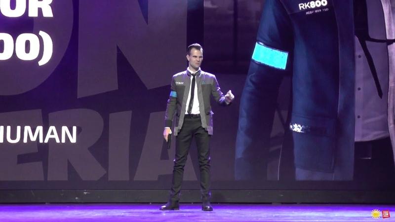 Connor (RK 800) Detroit: Become Human - (Одиночное дефиле) Comic Con Siberia Halloween