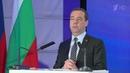 Дмитрий Медведев: Россия готова идти насамые современные виды визовых решений. Новости. Первый канал