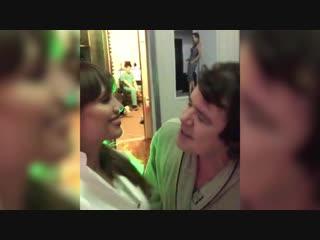 видео со съемок последнего клипа