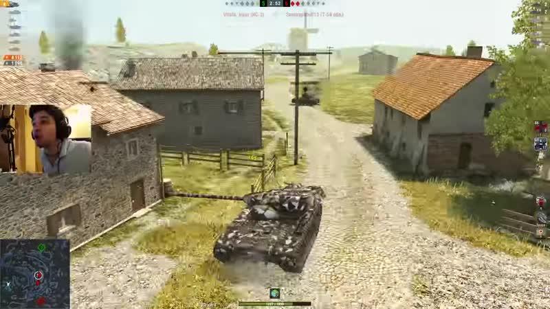 [Glafi.com] WoT Blitz - НЕУБИВАЕМЫЙ танк Хомяк T54E1. Во славу ВБР- World of Tanks Blitz (WoTB)