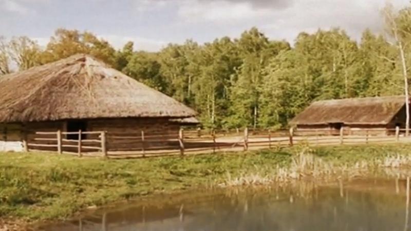 Lithuanian countryside in Rumšiškės   Jonas Mekas Semeniškių idilės - Rumšiškių muziejus