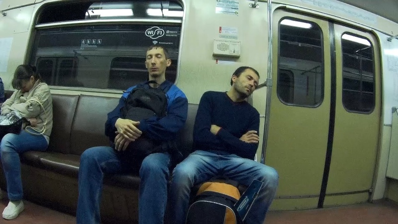 Поездка по Замоскворецкой линии метро Речной вокзал - Красногвардейская