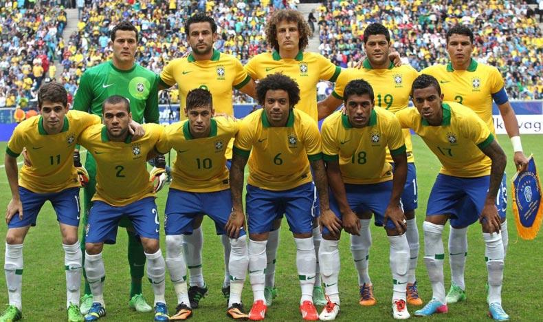 заявка сборной Бразилии на