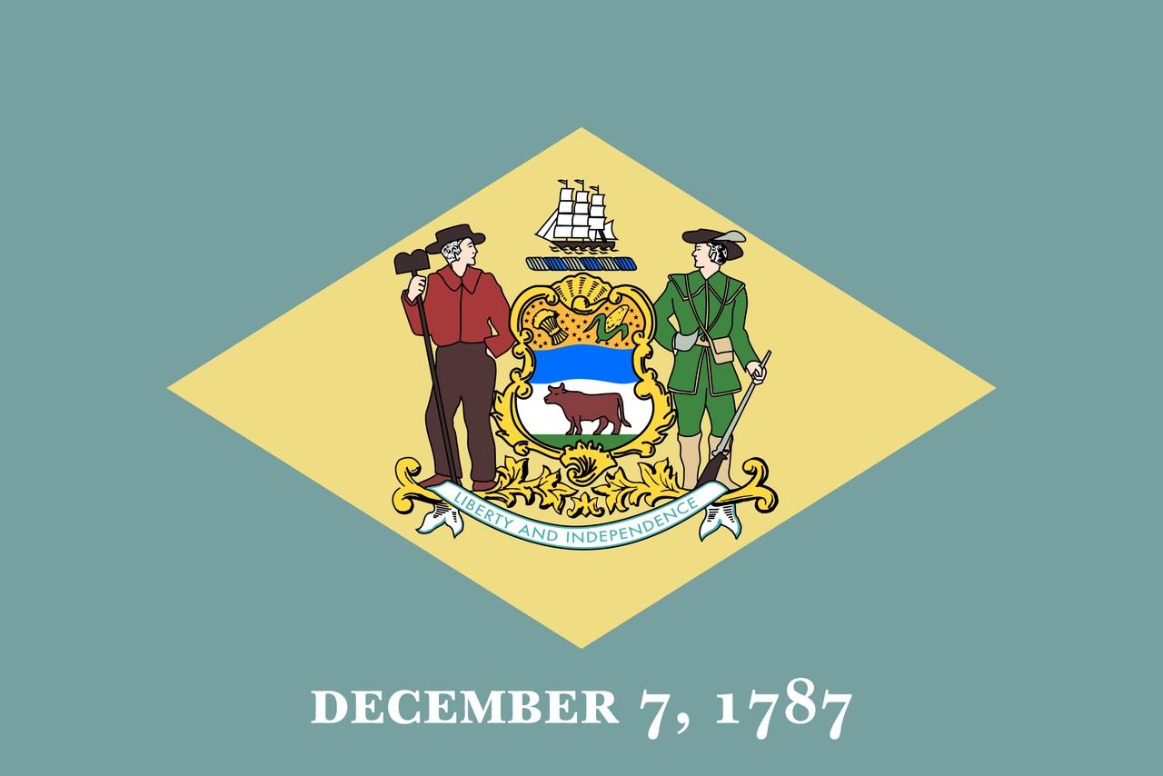 Флаг Делавэр