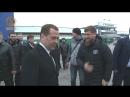 Медведев испытал отвращение после объятий с Кадыровым