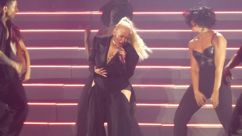 Fighter Christina Aguilera@MGM National Harbor Oxon Hill, MD 9/30/18