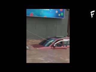 Сильная гроза и подтопления в асунсьон, парагвая ¦ thunderstorm and flooding in asuncion, paraguay