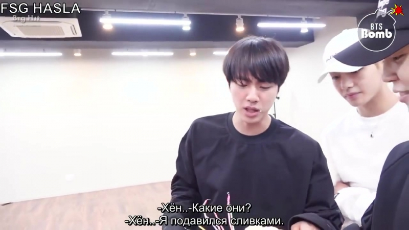 [RUS SUB][BANGTAN BOMB]180119 Jin's Surprise Birthday Party - BTS(рус.саб)