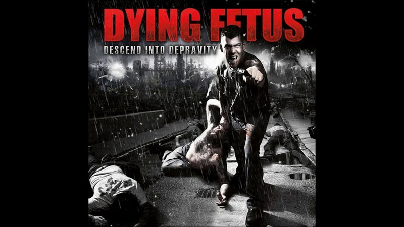 Dying Fetus Descend into Depravity 2009