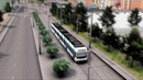Cities: Skylines - First Person Tram Ride V3