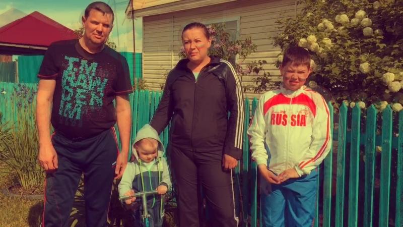 Визитка семьи Личман МО п Боровский
