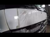 AXIOM A4058 Без проблем отмываем застарелый скотч от кабины грузовика и моем топливный бак