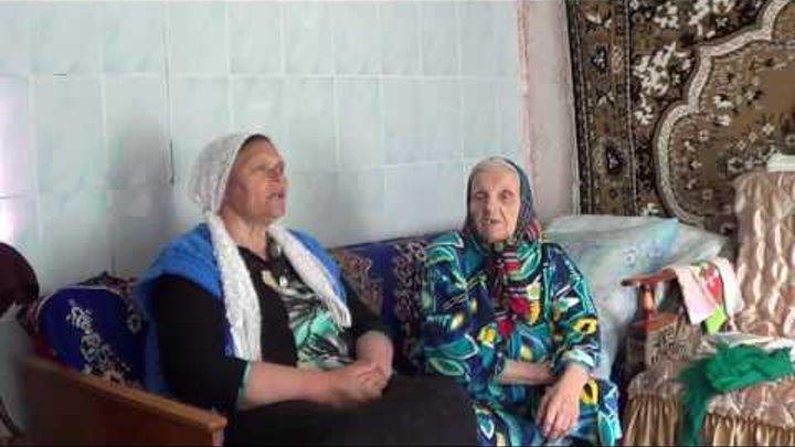 Над рекою село исполняют Любовь Быковская и Евдокия Терехова