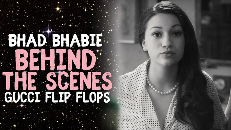 BHAD BHABIE Gucci Flip Flops Behind The Scenes | Danielle Bregoli