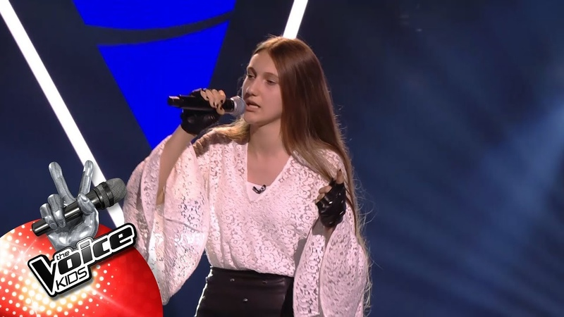 Thara 'Stand My Ground Blind Auditions The Voice Kids VTM