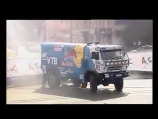 KAMAZ - DAKAR В. Чагин Валит боком! OFF ROADING EXTREME 4wd