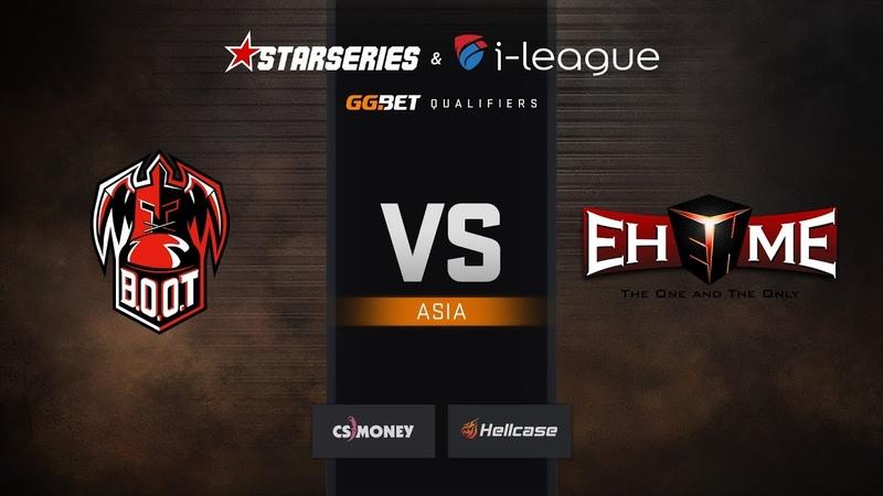 BOOT d S vs EHOME map 2 train StarSeries i League Season 6 Asia Qualifier