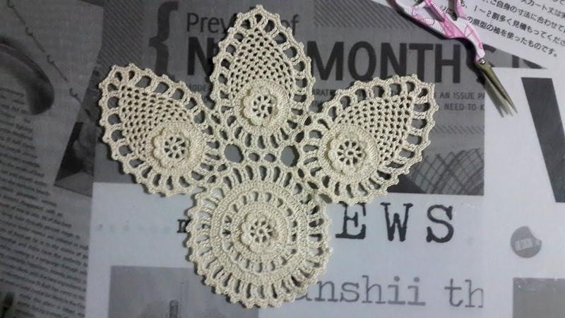 Tığ işi Dantel Oda Takımı motif Anlatımlı Video 1 Crochet