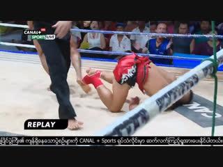 Бирманский бокс летхвей: жёсткие попадания. Kayin State Day.