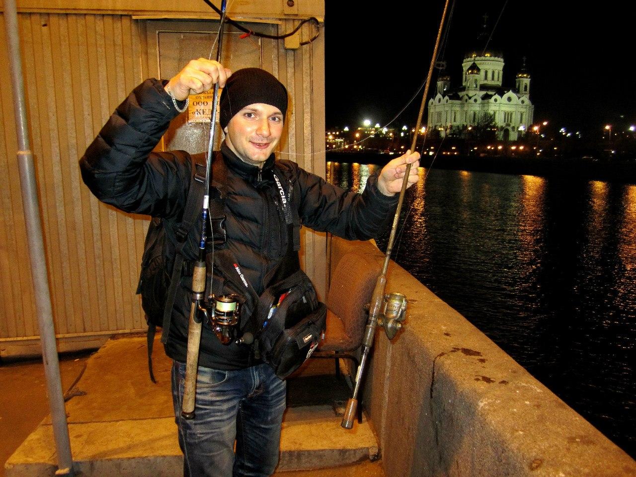 Трофеи Москвы реки