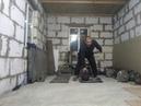 Выривание напопа и высокий мах с гирей 32 кг