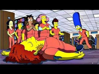 Симпсоны Оранжевый - новый желтый (Проф. Озвучка/Весь Экран) Новые Серии