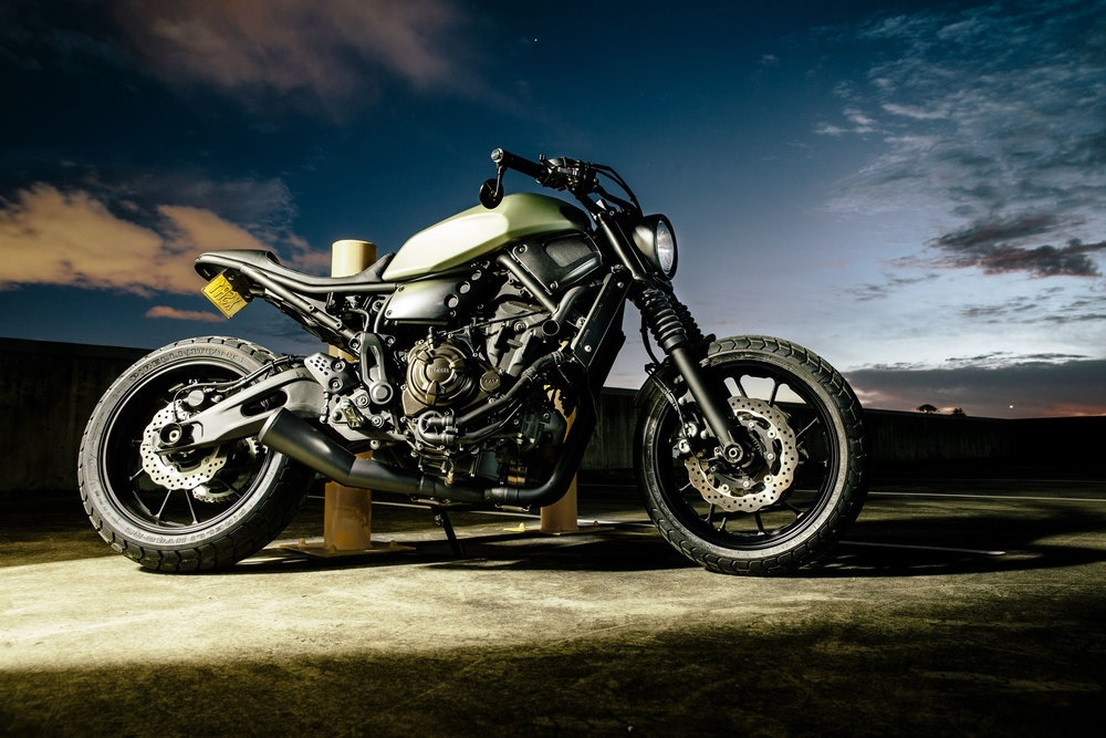 Gasoline Motor Co.: два кастома Yamaha XSR700