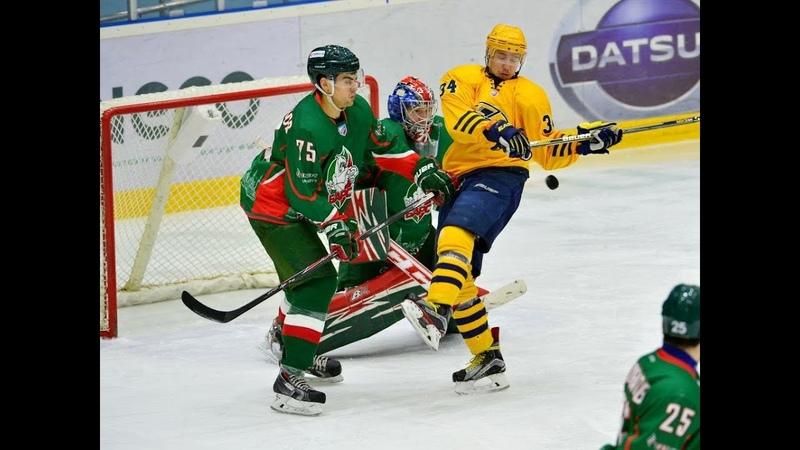 Барс (Казань) - Дизель (Пенза)   Матч ВХЛ   LordHockey Mod