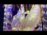 Танцующие лебеди из карамели на торте Рената Агзамова