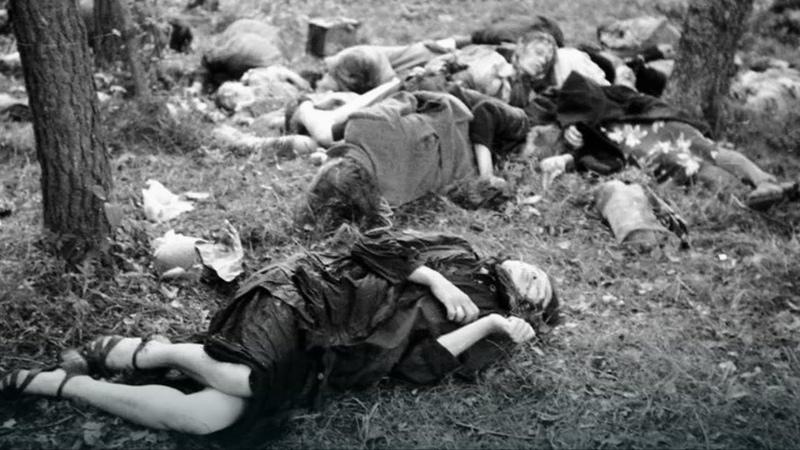 O pamięć wołają ofiary... [rzeź wołyńska - film dokumentalny]