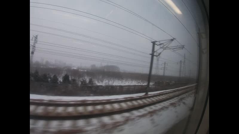 скоростной поезд (300-350 кмч)
