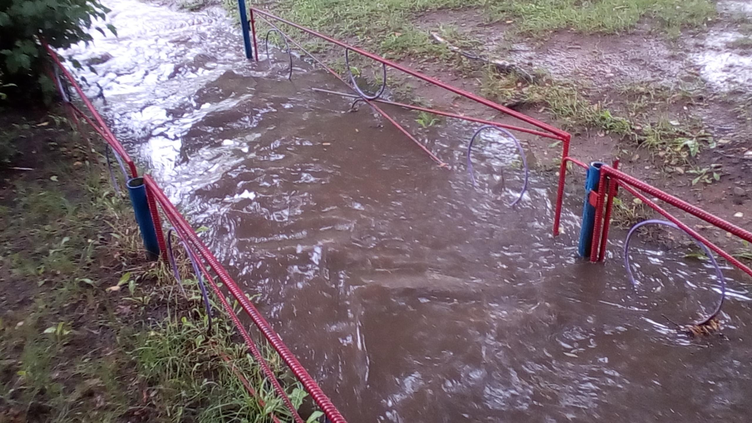 Потоп на брестской