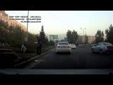 ДТП Тойота Камри сбила бегуна Алматы 02.09.2013