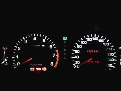 Подсведка диодная Toyota camry sxv10 часть вторая