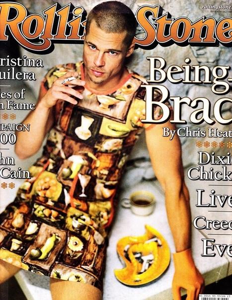Брэд Питт для журнала Rolling Stone (1999)