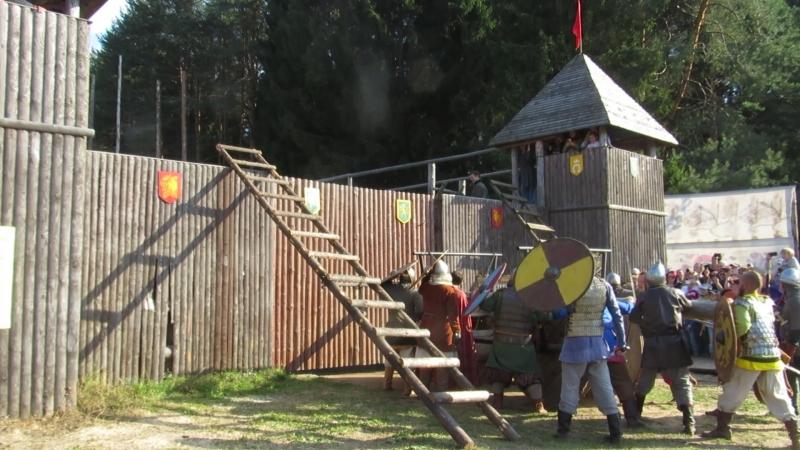 Фестиваль Хлыновская застава Рыцарский тур 2018.