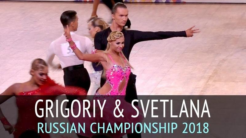 Григорий Падучев - Светлана Мазур | Самба | Чемпионат России 2018 - 1 тур