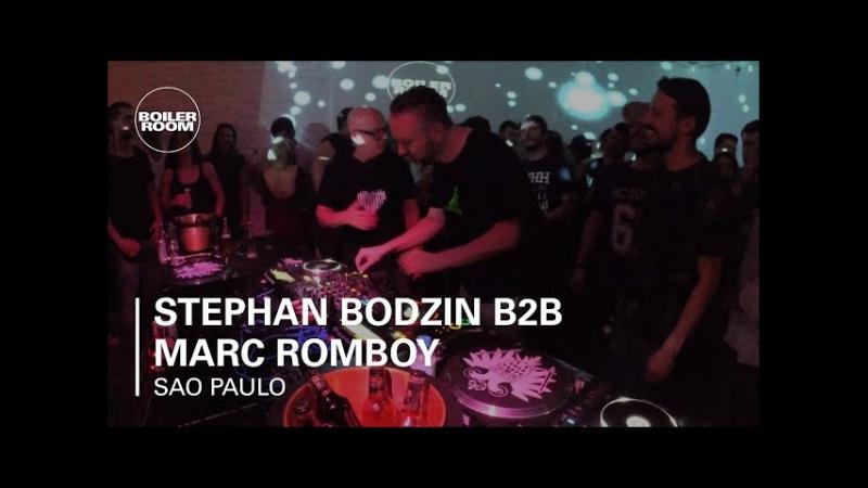 Deep House presents Stephan Bodzin B2B Marc Romboy Skol Beats x Boiler Room Sao Paulo [DJ Live Set HD 720]