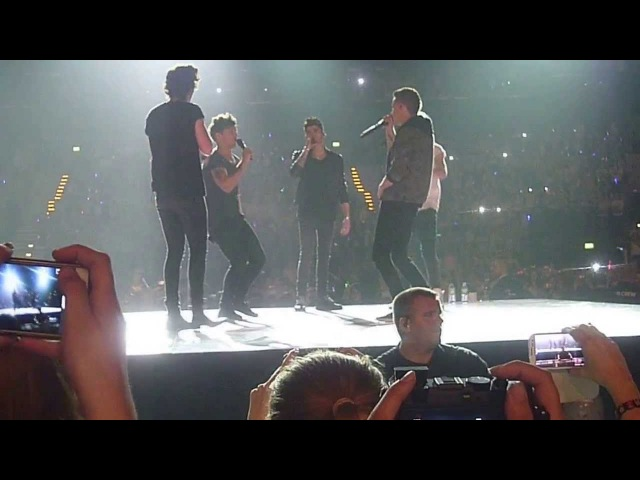 One Direction rapping fresh prince of bel-air, HAMBURG 12.05.13