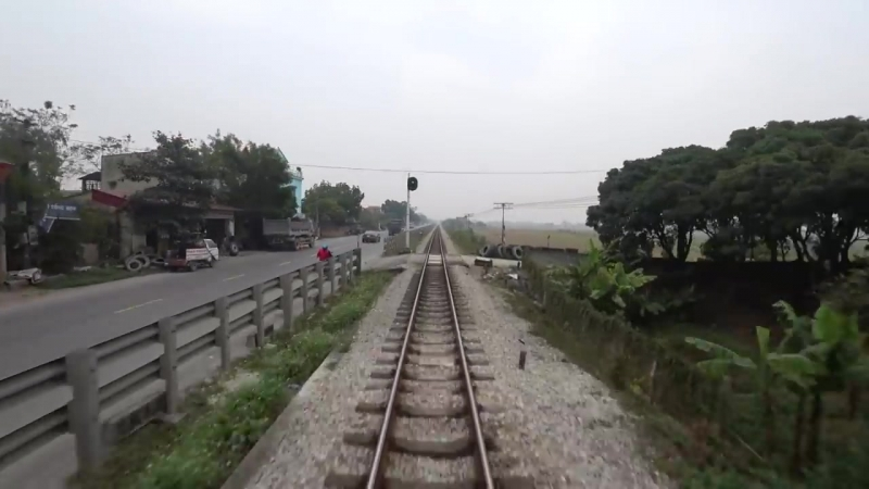 Train Driver record SE5 Hanoi - Ninh Binh (2017)