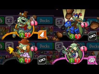 Plants vs Zombies Heroes - Set 4 Cards for Zombies? (Read Description for their Ability)