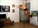 Freestyle pole dancing to Sophie zelmani- stay with my heart