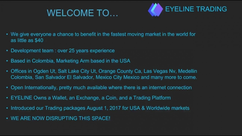 Eyeline Trading Overview From the CEO
