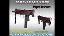 CS:GO MAC 10 Pipe Down HD skin for CS 1.6