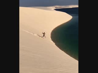 Brazilian desert lagoons
