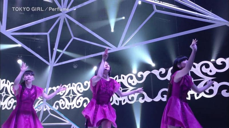 Perfume - TOKYO GIRL (CDTV 2018.08.19)