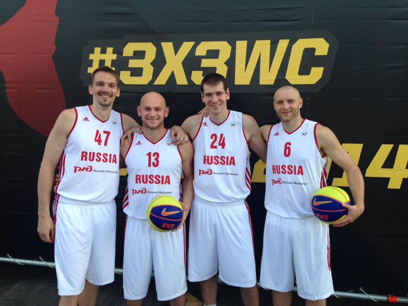 Состав сборной России по уличному баскетболу
