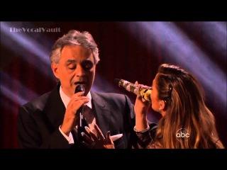 Andrea Bocelli and Jennifer Lopez - Quizas, Quizas, Quizas-DWTS-16-Results